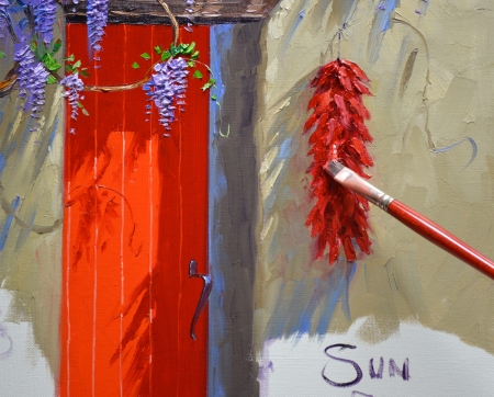 SC1015 Sun Splashed Red Step 9