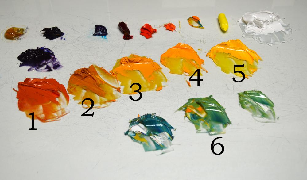Mikki senkarik original oil paintings in progress for How to start acrylic painting