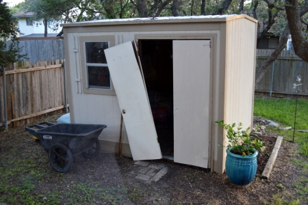 2014-6-23 Garden Shed Door