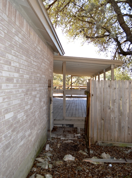 Back Porch gate 2014-3-11