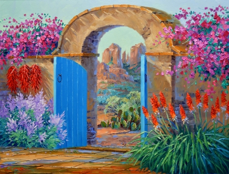 SF2415 Secluded Elegance 24x30