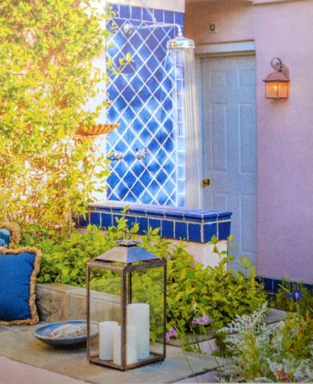 Blue tile 1