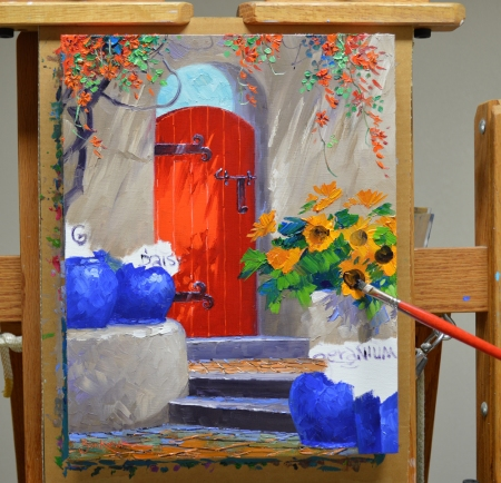 SI4215 A Flourish of Color Step 6