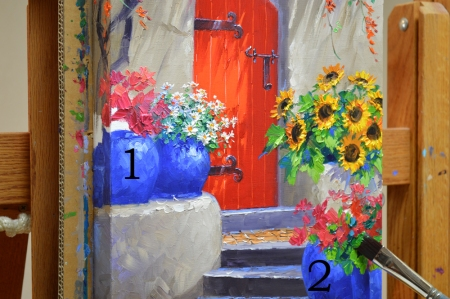 SI4215 A Flourish of Color Step 8
