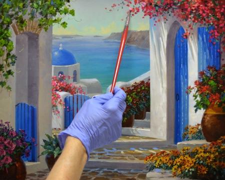 LO Magic of Santorini step 3