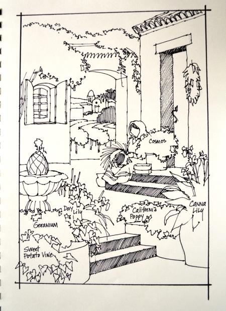 Sketch Boggs Courtyard 2