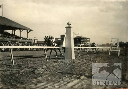 FIrst race at keeneland 1936