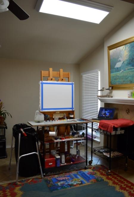 SD1216 Step 1 Painting Setup