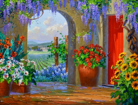 SI8514 Magic of the Vines 24x30