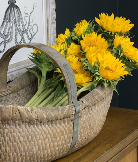 cut-sunflowers-in-basket-5