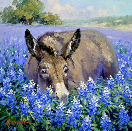 sk3316-stop-and-smell-the-bluebonnets-10x10
